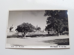 Alta Gracia - S. De Cba LA PLAZA ( 925 - Photo Card ) Anno 19?? ( Zie Foto Details ) !! - Argentina