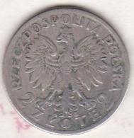 POLOGNE  . 2 ZLOTE 1933 . ARGENT - Pologne