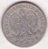POLOGNE  . 2 ZLOTE 1934. ARGENT - Pologne