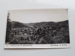Alta Gracia - S. De Cba PAISAJE DE LA SERRANITA ( 966 - Photo Card ) Anno 19?? ( Zie Foto Details ) !! - Argentina