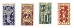 ITALIA 1949 BIENNALE DI VENEZIA LINGUELLATA *  COD FRA.069 - 6. 1946-.. Repubblica