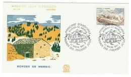 Andorre // FDC // 1981 //  Bordes De Mereig - FDC
