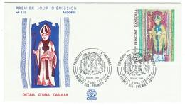 Andorre // FDC // 1981 //  Detall D'una Casulla - FDC