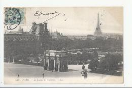 1CPA 75- PARIS - LE JARDIN DES TUILERIES - Parques, Jardines
