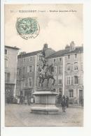 1CPA 88- MIRECOURT - STATUE JEANNE D'ARC - Mirecourt