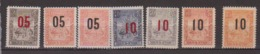 MADAGASCAR             N°  115/120      NEUF AVEC CHARNIERES        ( Ch     399 ) - Unused Stamps