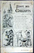 71 CLUNY ECOLE DES ARTS ET METIERS HYMNE DES  GADZARTS  ALLEGORIE  TRAVAUX  CARICATURE PAR ANTOINE - Cluny