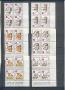 Ordre De Malte : Lot De Bloc De 4 Timbres (theme Bateau) Timbres Neufs - Malte (Ordre De)