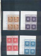 Ordre De Malte : Lot De Bloc De 4 Timbres Et Paires (timbres Neufs) - Malte (Ordre De)
