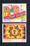 Norwegen 2005 Kinder Mi.Nr. 1427/28 Kpl. Satz ** - Norwegen
