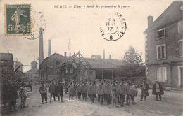 47-FUMEL- USINES- SORTIE DES PRISONNIERS DE GUERRE - Fumel