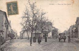 47-FUMEL-  PLACE DU POIDS PUBLIC - Fumel