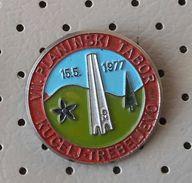 SLOVENIA Pin Mountaineering Camp Kucelj Trebeljevo 1977 Alpinism, - Alpinism, Mountaineering