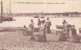CPA - Perros Guirec - Matelots Au Port - Perros-Guirec