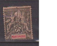 MARTINIQUE            N°   38     NEUF AVEC CHARNIERES        ( Ch     414 ) - Martinique (1886-1947)