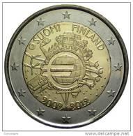 "** 2 EUROS COMMEMO. FINLANDE 2012 "" 10 Ans De L Euro "" PIECE NEUVE ** - Finlande"