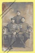 Photo Militaire  GUERRE 1914 1918 Décor Montage Soldat Groupe  Militaire - Krieg, Militär
