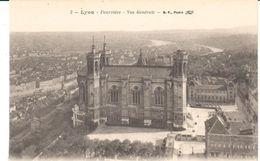 POSTAL    LYON  - FRANCIA  - VISTA GENERAL DE LA COLINA FOURVIÉRE ( FOURVIÉRE-VUE GÉNÉRALE) - Lyon