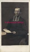 CDV Portrait D'un Prêtre Vers 1870-photographe Anonyme - Alte (vor 1900)