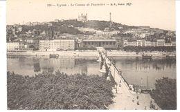 POSTAL    LYON  - FRANCIA  - LE COTEAU DE FOURNIÉRE - Lyon