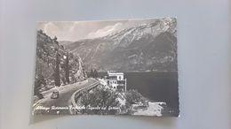 CARTOLINA TIGNALE DEL GARDA - ALBERGO RISTORANTE FORBISICLE - Brescia