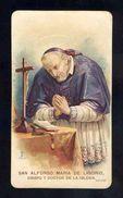 Image Pieuse: Saint Alphonse Marie De Ligouri (Lega Eucaristica Num.128 N) (Ref.78060) - Devotion Images