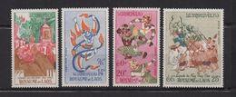 Poste Aérienne 1962 Royaume Du Laos 4 Timbres Neufs Nuovo   Fra.1020 - Laos