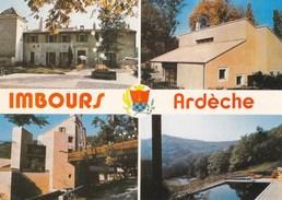 IMBOURS - ARDÈCHE - (07) - CPSM MULTIVUES - France
