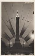 BRUXELLES / BRUSSEL / LA NUIT / BIJ NACHT / COLONNE DU CONGRES / 1930  / 100 ME ANNIVERSAIRE DE LA BELGIQUE - Brussel Bij Nacht