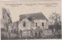 62 Foncquevillers  Ruines Du Cimetiere Et De L'eglise Guerre 1914-1915 - Sonstige Gemeinden