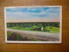Tennessee , Menphis , Jefferson Davis Park On The Mississipi River - Memphis