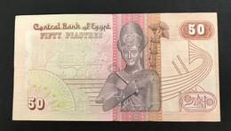 EGYPTE - Billet De 50 Piastres - Egypte