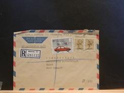 72/990   LETTRE RECOMM. G.B. - Autos