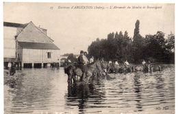Indre - Environs D'ARGENTON - Cavaliers à L'Abreuvoir Du Moulin De Beauregard - 1908 - France