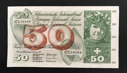 SUISSE - Billet De Banque 50F  - 7 Mars 1974 - 47U18184 - Suiza