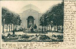 AK Darmstadt, Kirche, O 1905, Poststempel Durchgeschlagen (14892) - Darmstadt