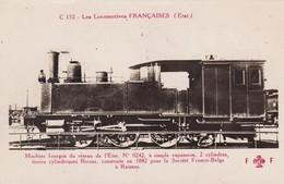 C 152 LES LOCOMOTIVES FRANCAISES ( Edit Fleury ) - Trains