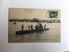 "LA PALLICE ROCHELLE - Sous-marin La ""Loutre"" - Unterseeboote"