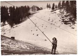 THOLLON LES MEMISES - Les Pistes De Ski Et La Gare Supérieure Du Télésiège. - Thollon