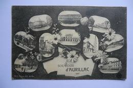 CPA 15 CANTAL AURILLAC. Souvenir D Aurillac. - Aurillac