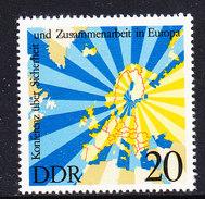 DDR 1975 KSZE/OSCE 1v ** Mnh (36708) - Europese Gedachte