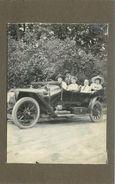 VOITURE ANCIENNE à Identifier En 1912 ( Photo  Format 10,7x 7,7cm) - Automobili