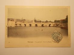 Carte Postale - VIERZON (18) - Vue Générale - Pont Du Bassin (1789) - Vierzon
