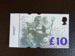 1993  10£ Ten Pounds  SG 1658 ** Mint NH - 1952-.... (Elisabetta II)