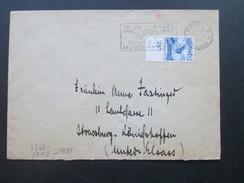 Schweiz 1942 Mehrfachzensur / 4-fach Zensur Der Wehrmacht. Nr. 303 Oberrand EF. Basel - Strassburg. Geöffnet - Briefe U. Dokumente