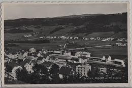 Sentier-Orient Et Mont Tendre Avec Gare Bahnhof - Photo: Perrochet - VD Vaud