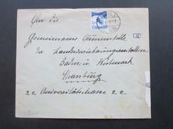 Schweiz 1942 Michel Nr. 303 EF Mehrfach Zensur Der Wehrmacht. Basel- Strassburg I. Elsass. Geöffnet Oberkommando - Briefe U. Dokumente