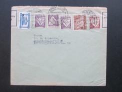 Portugal 1936 Zensurpost Devisenüberwachung Zollamtlich Geöffnet. Lisboa - Berlin - 1910-... République