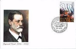 Belgien Belgie Belgium 2001 - Sigmund Freud - österreichischer Nervenarzt - Lettres & Documents