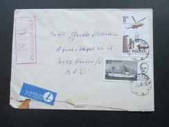 Polen 1982 Zensurpost / Kalter Krieg / Postkrieg ?! In Die BRD / Bahnpost. Zensurstempel: NIE Cenzurowano. Luftpost - 1944-.... Republik